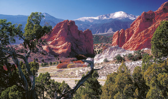 Rocky Mountains Und Yellowstone